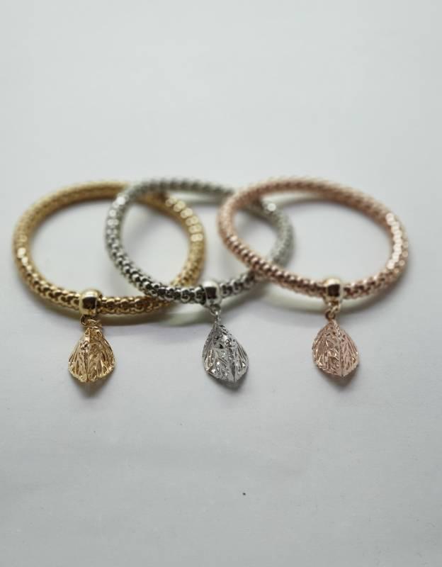 Bracelets اسوارة مطلي مع ستراس