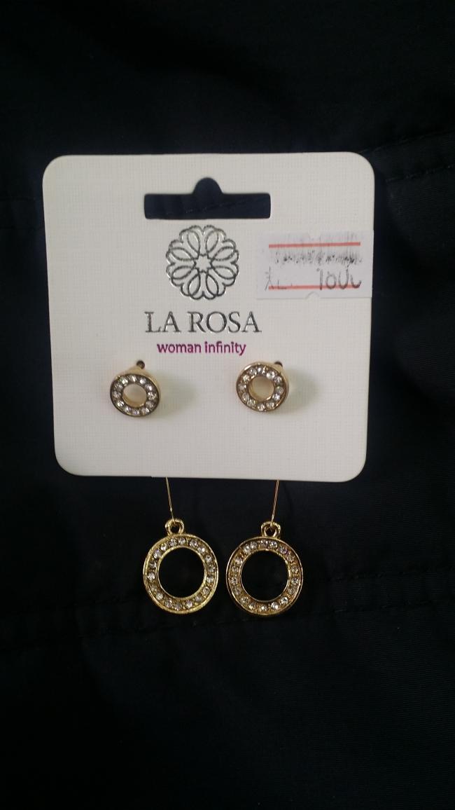 Silver/Gold Earrings