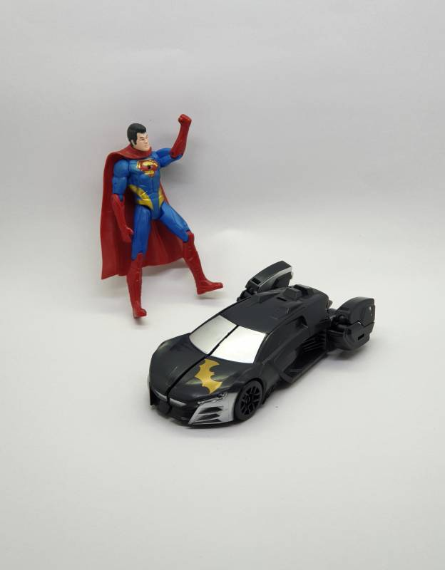 Superman and Batman