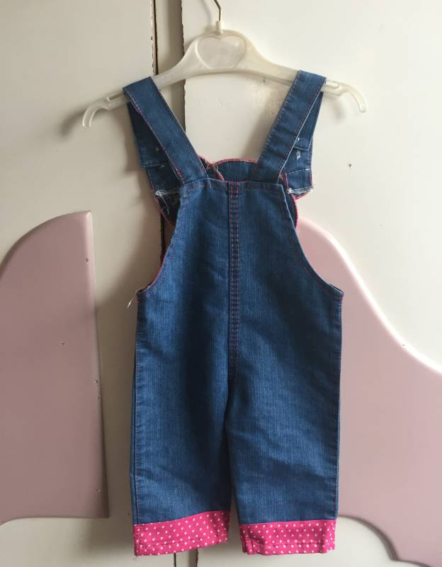 OVERALL JEANS HAMAL GIRLS